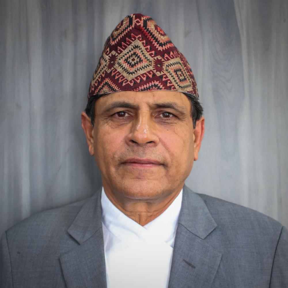 Hon. Ghanashyam Bhusal