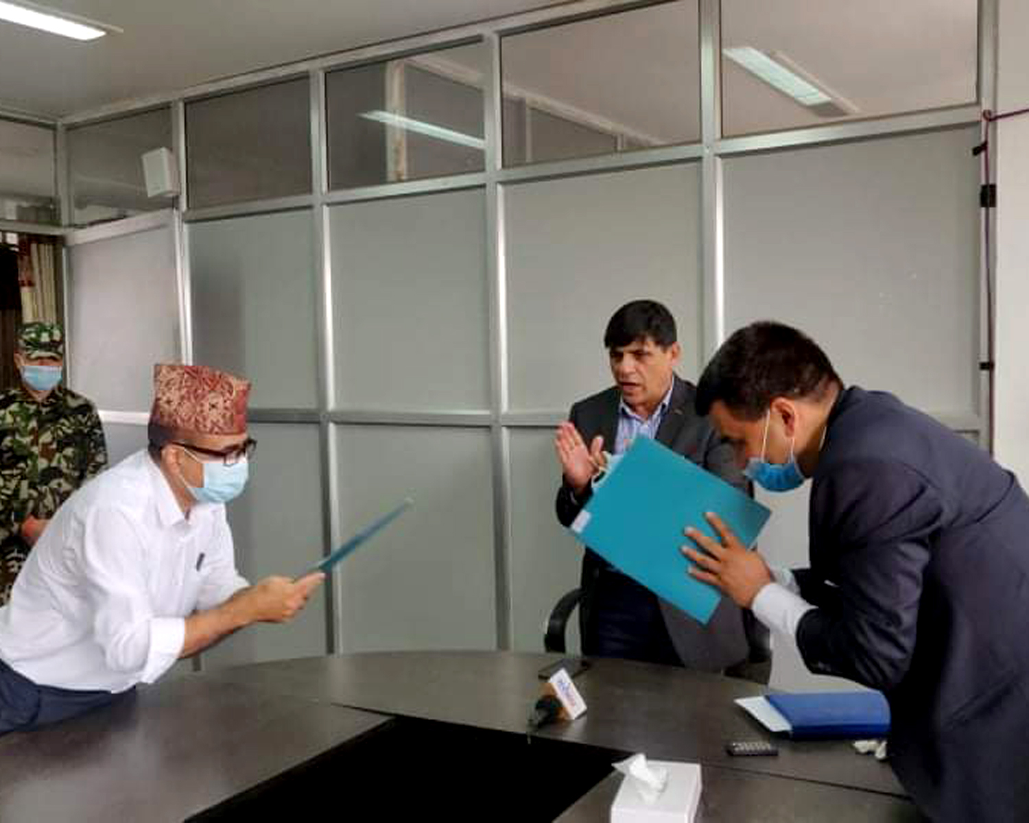MoU signing with Nepal Agriculture Research Council